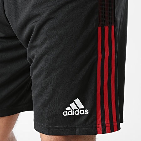 adidas - Short De Sport A Bandes Manchester United GR3793 Noir