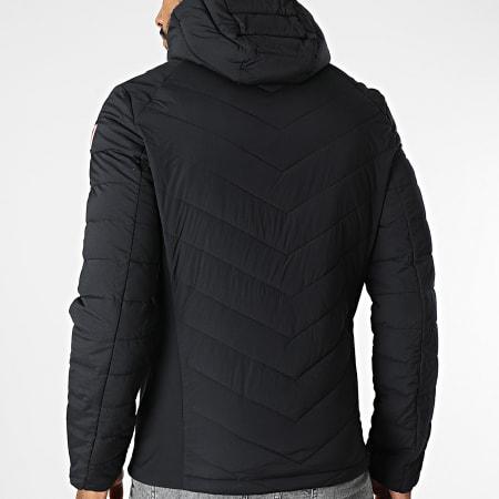 Guess - Veste Zippée A Capuche M1BL43-WE790 Noir