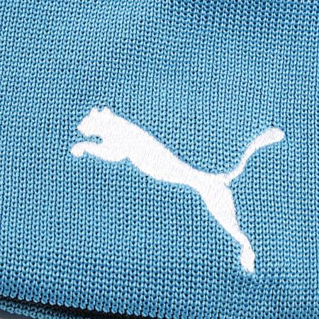 Puma - Bonnet Réversible OM 022739 Noir Bleu