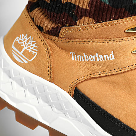Timberland - Baskets Brooklyn Mid Hiker A2JSM wheat Nubuck Camo