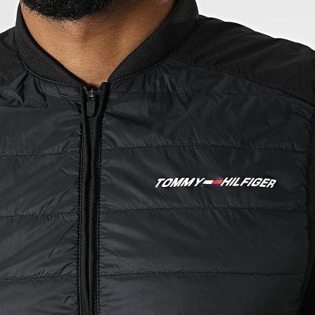 Tommy Sport - Veste Zippée Sans Manches 8949 Noir