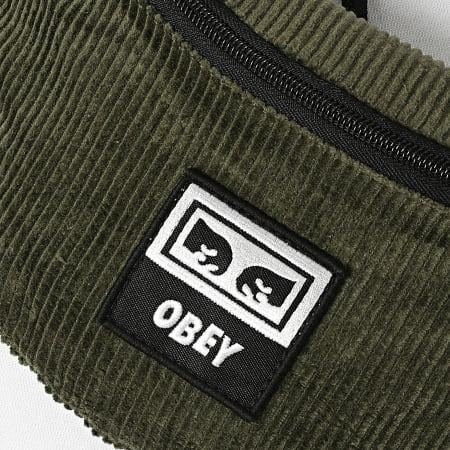 Obey - Sac Banane Wasted Hip Bag Vert Kaki
