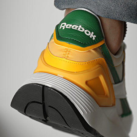 Reebok - Baskets Classic Leather Legacy AZ G55268 Chalk Glen Green Track Gold