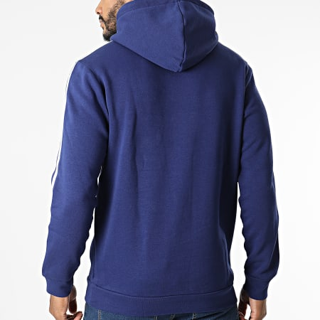 adidas - Sweat Capuche A Bandes 3 Stripes H06677 Bleu Marine