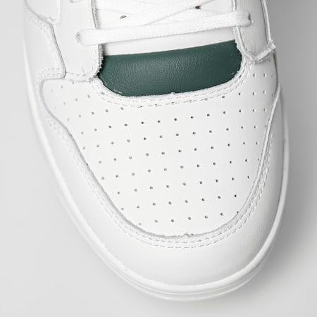 Le Coq Sportif - Baskets Breakpoint 2120429 Optical White Trekking Green