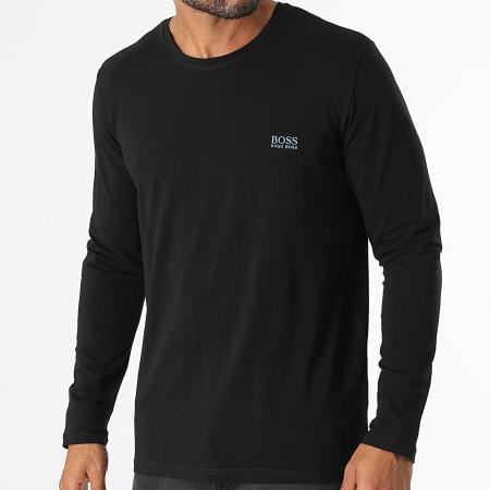 BOSS By Hugo Boss - Tee Shirt Manches Longues Mix And Match 50379006 Noir