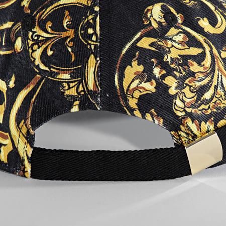 Versace Jeans Couture - Casquette Renaissance 71YAZK18-ZG015 Noir Doré