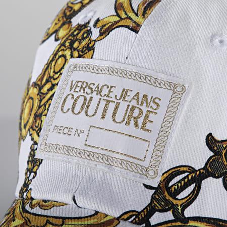 Versace Jeans Couture - Casquette Renaissance 71YAZK18-ZG015 Blanc Doré