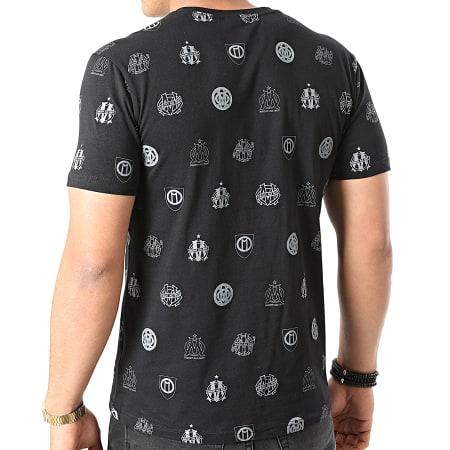 OM - Tee Shirt All-Over M21005C Noir Doré
