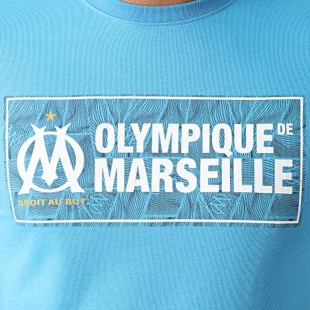 OM - Tee Shirt Fan M21001C Bleu Clair