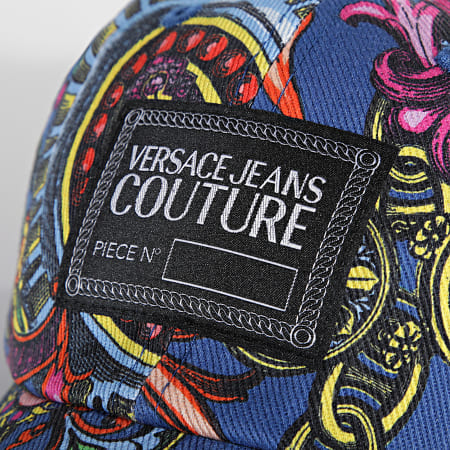 Versace Jeans Couture - Casquette Regalia Baroque Bleu Marine