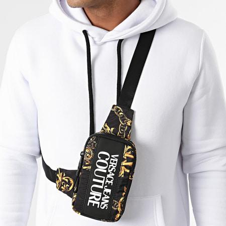 Versace Jeans Couture - Sac Poitrine Logo Type Noir Renaissance