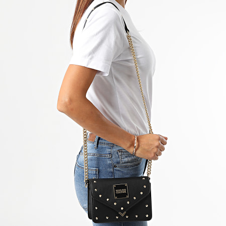 Versace Jeans Couture - Sac A Main Femme Range Studs Revolution Noir