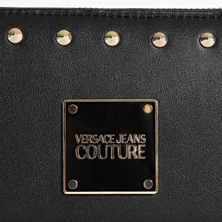 Versace Jeans Couture - Portefeuille Femme Studs Revolution Noir