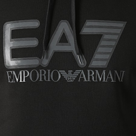 EA7 Emporio Armani -  Sweat Capuche 6KPM88-PJ07Z Noir