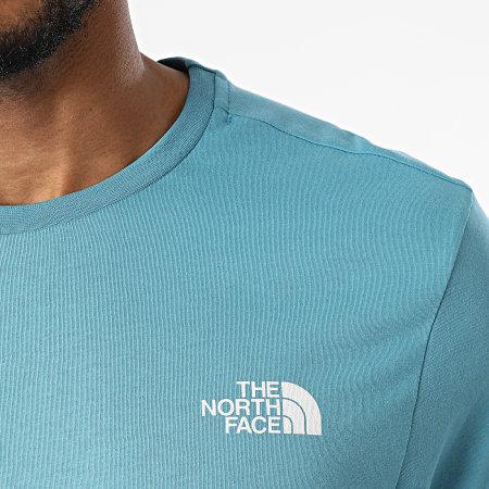 The North Face - Tee Shirt Simple Dome A2TX5 Bleu Clair