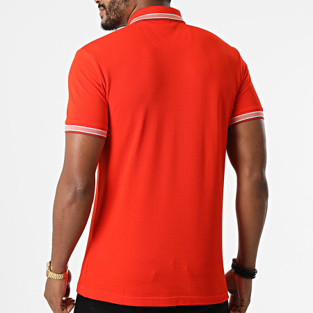 BOSS By Hugo Boss - Polo Manches Courtes Paddy 50398302 Orange